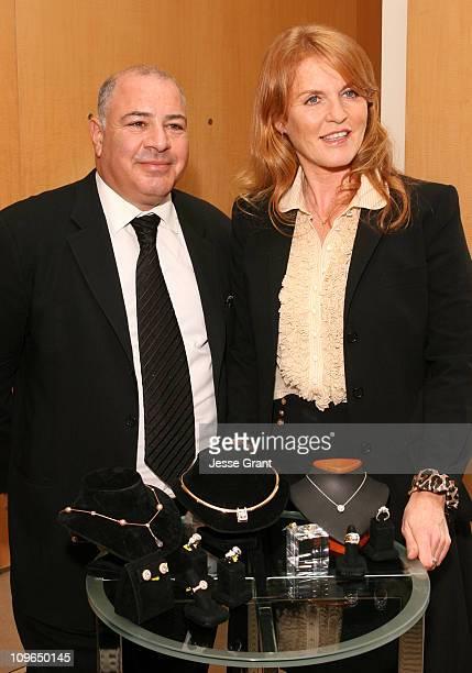 Neil Koppel and Sarah Ferguson the Duchess of York