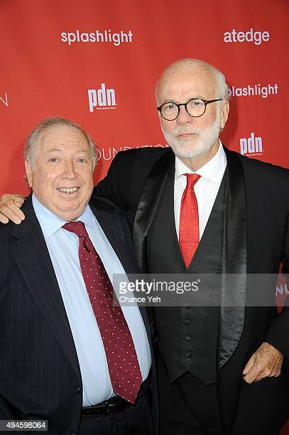 Neil Leifer and David Hume Kennerly attend 13th Annual Lucie Awards at Zankel Hall, Carnegie Hall on October 27, 2015 in New York City.