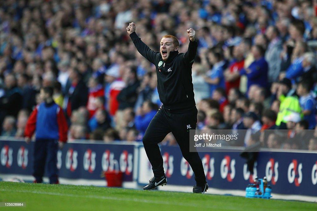Rangers v Celtic : News Photo