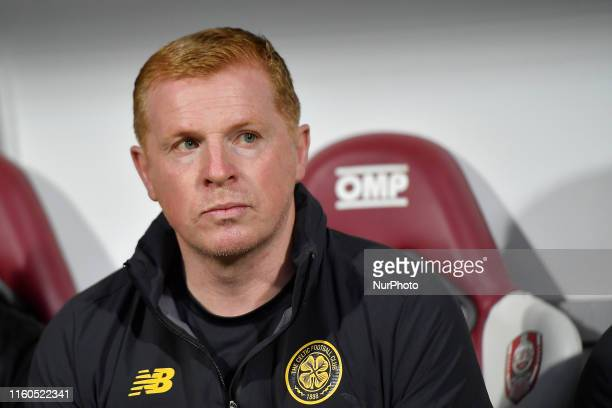 Neil Lennon head coach of CFR Cluj in action during the game during the UEFA Champions League 2019/2020 Third Qualifying Round between CFR Cluk v...