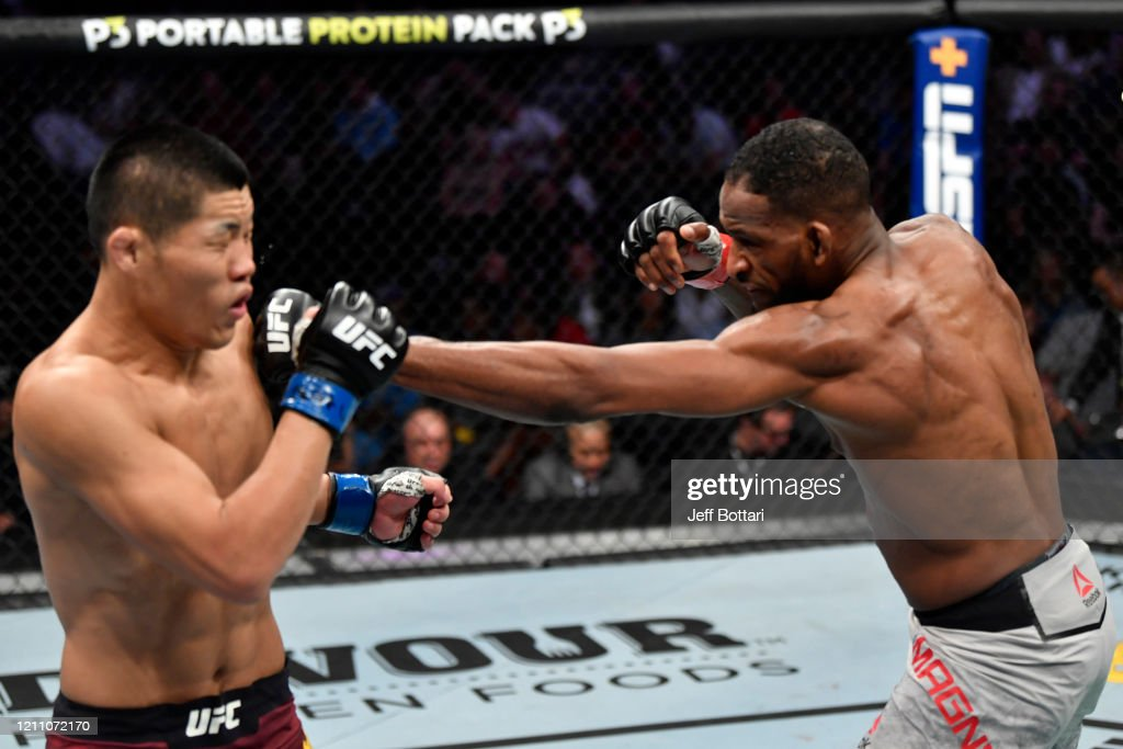 UFC 248: Magny v Jingliang : News Photo