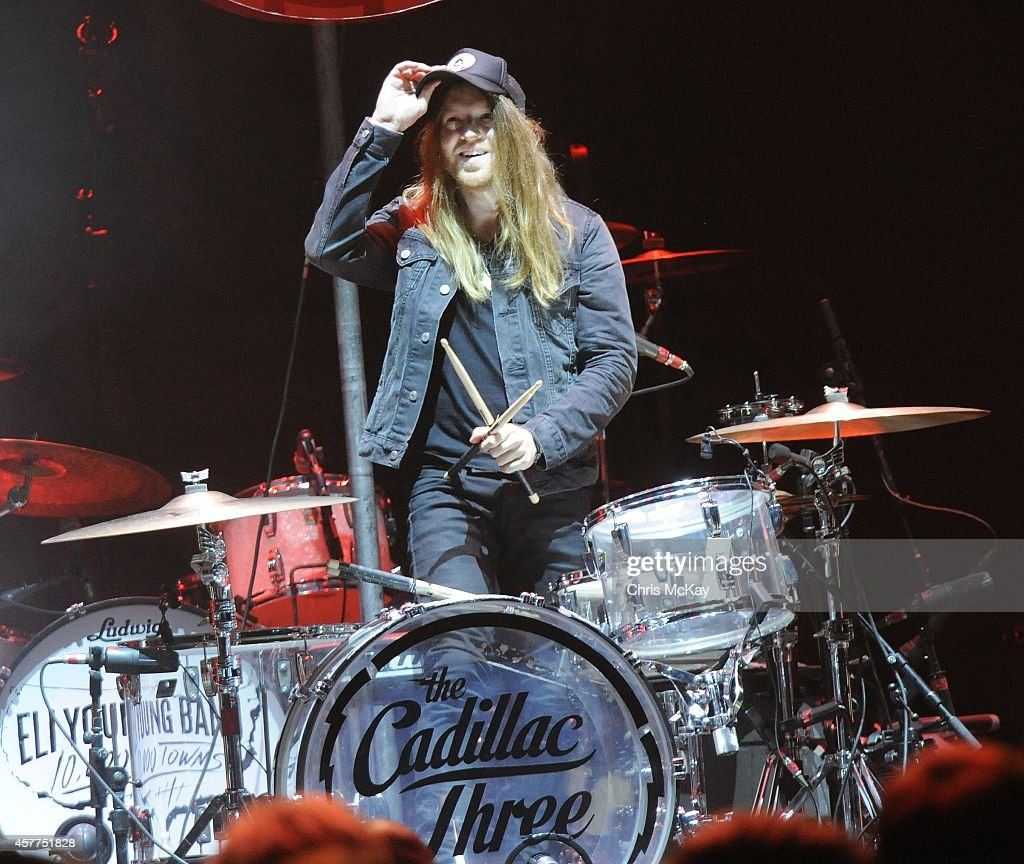 Neil Mason of The Cadillac Three performs at Arena at Gwinnett Center on October 23, 2014 in Duluth, Georgia.