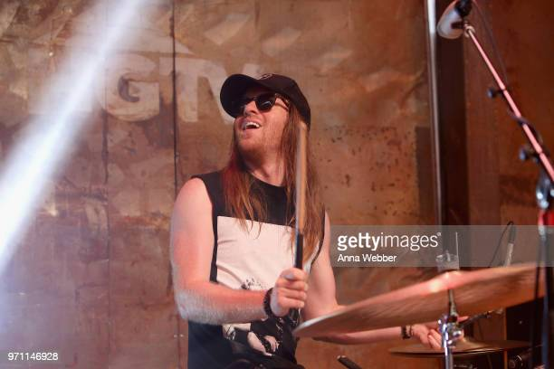Neil Mason of The Cadillac Three performs onstage in the HGTV Lodge at CMA Music Fest on June 10 2018 in Nashville Tennessee