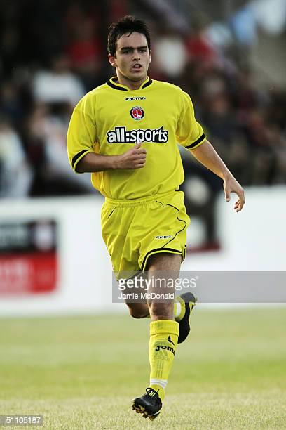 Neil McCafferty of Charlton Athletic in action during the PreSeason Friendly match between Welling United and Charlton Athletic held on July 16 2004...