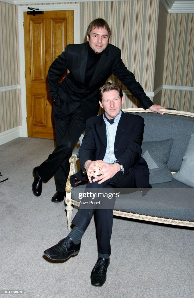 Neil Morrissey And Adrian Dunbar, 'Triggermen' Premiere At The Charlotte Street Hotel In London
