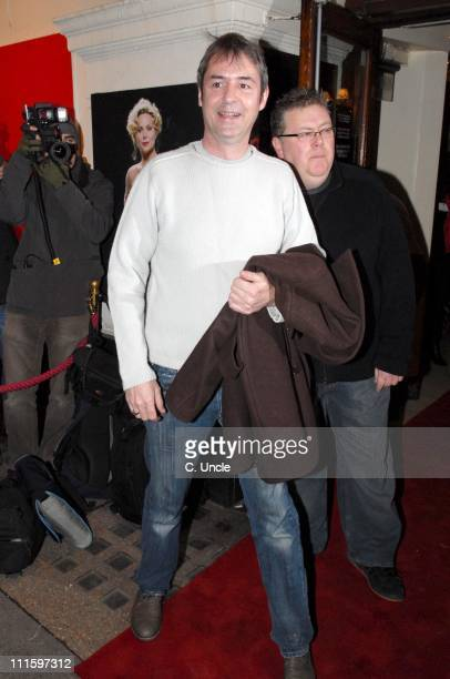 Neil Morrissey during Guys And Dolls VIP performance Red Carpet Arrivals at Piccadilly Theatre in London Great Britain