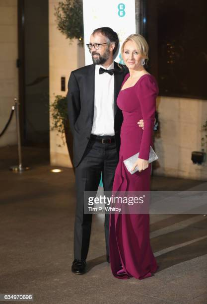 Neil Murray and J K Rowling attends the official after party for the 70th EE British Academy Film Awards at The Grosvenor House Hotel on February 12...