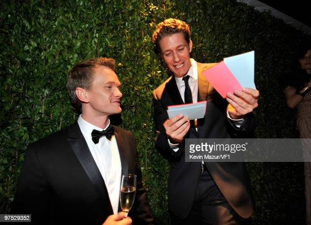 Neil Patick Harris attends the 2010 Vanity Fair Oscar Party hosted by Graydon Carter at the Sunset Tower Hotel on March 7, 2010 in West Hollywood,...