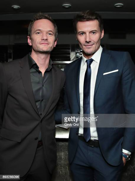 Neil Patrick Harris and Alex Lundqvist attend as Manhattan Magazine and Neil Patrick Harris celebrate the December issue at Mr Chow NYC Tribeca on...