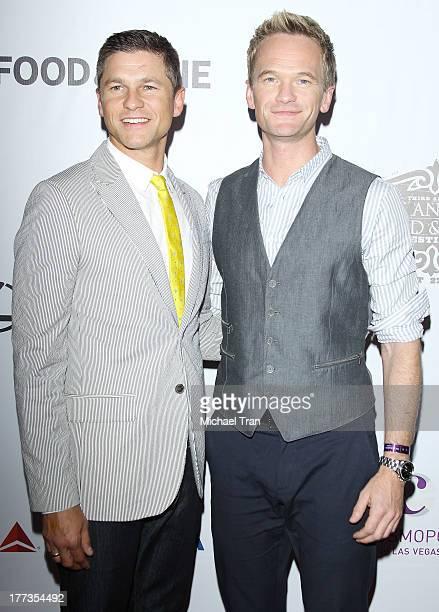 "Neil Patrick Harris and David Burtka arrives at the 2013 Los Angeles Food & Wine Festival - ""Festa Italiana With Giada De Laurentiis"" opening night..."