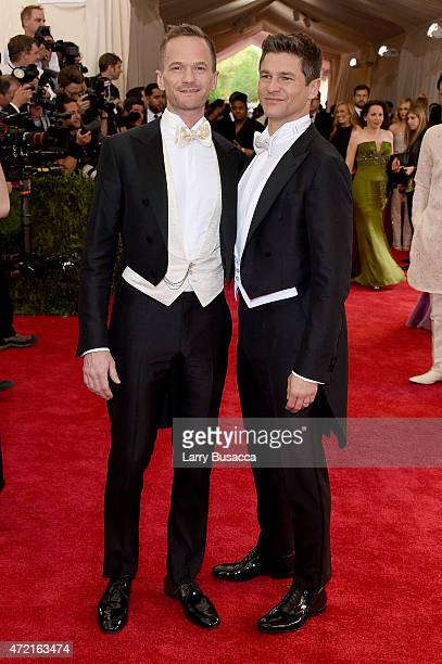 Neil Patrick Harris and David Burtka attend the 'China Through The Looking Glass' Costume Institute Benefit Gala at the Metropolitan Museum of Art on...