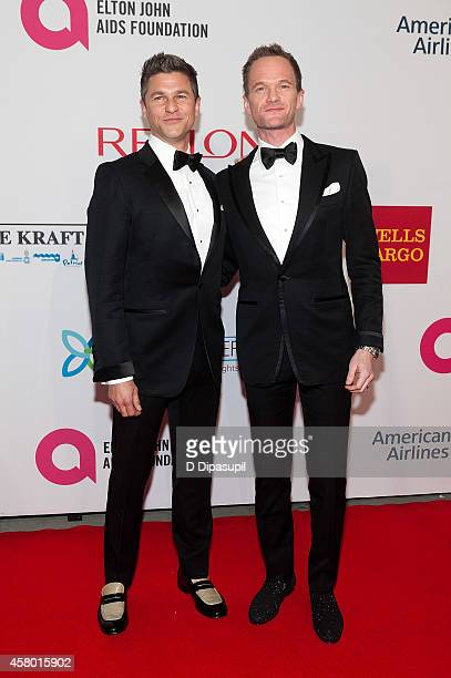 Neil Patrick Harris and David Burtka attend the Elton John AIDS Foundation's 13th Annual An Enduring Vision Benefit at Cipriani Wall Street on...