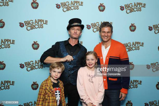 Neil Patrick Harris and David Burtka attend the Opening Night of Big Apple Circus at Lincoln Center with Celebrity Ringmaster Neil Patrick Harris on...