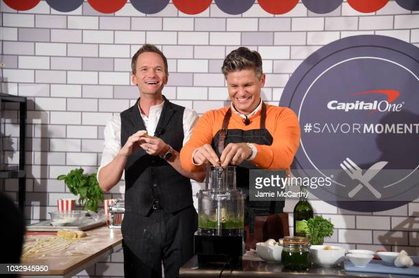 Neil Patrick Harris and David Burtka host the Capital One® Launch Event for the new Savor® card on September 13 2018 in New York City