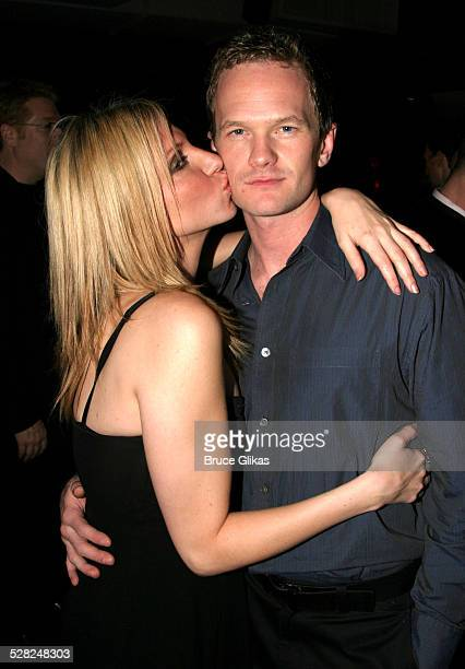 Neil Patrick Harris and Deborah Gibson during Sam Mendes and Rob Marshall's Broadway Production of Cabaret Closing Night at Studio 54 in New York...