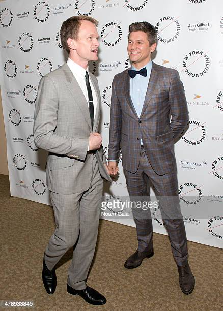 Neil Patrick Harris and husband David Burtka attend the 2014 The New York Philharmonic Spring Gala featuring Sweeney Todd The Demon Barber of Fleet...