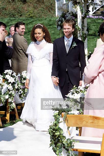 Neil Patrick Harris and Kathryne Dora Brown star in THE WEDDING DRESS a new television movie to be broadcast as the CBS Sunday Movie Sunday Oct 28 on...