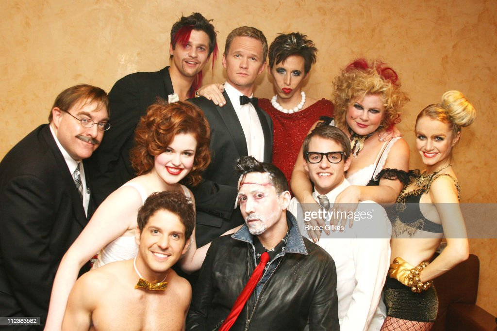 """""""The Rocky Horror Tribute Show"""" On Broadway to Benefit Susan G. Komen Breast Cancer Foundation - Backstage : News Photo"""
