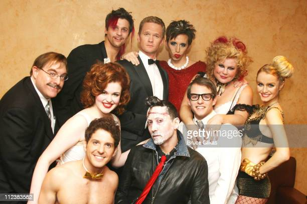 Neil Patrick Harris as The Narrator Rachel Helson as Janet Michael Sutherland as Brad David Burtka as Riff Raff Cathy Trien as Magenta/Usherette Kate...