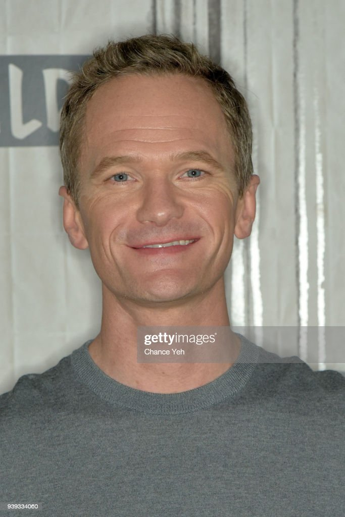 Neil Patrick Harris attends Build series to discuss 'A Series Of Unfortunate Events' at Build Studio on March 28, 2018 in New York City.