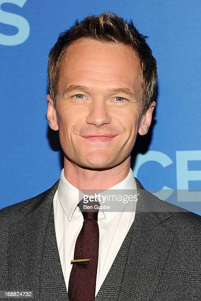 Neil Patrick Harris attends CBS 2013 Upfront Presentation at The Tent at Lincoln Center on May 15 2013 in New York City