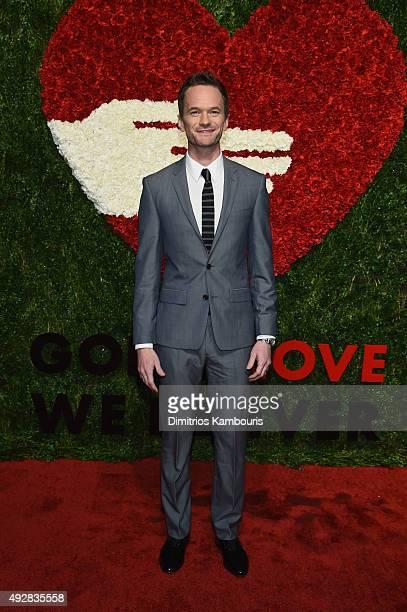 Neil Patrick Harris attends God's Love We Deliver Golden Heart Awards at Spring Studio on October 15 2015 in New York City