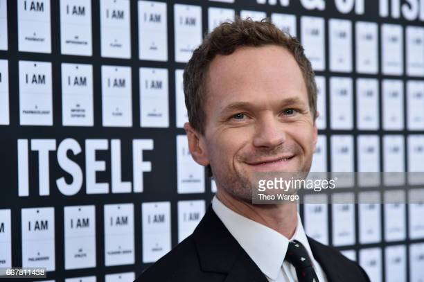 Neil Patrick Harris attends In Of Itself Opening Night Arrivals at Daryl Roth Theatre on April 12 2017 in New York City