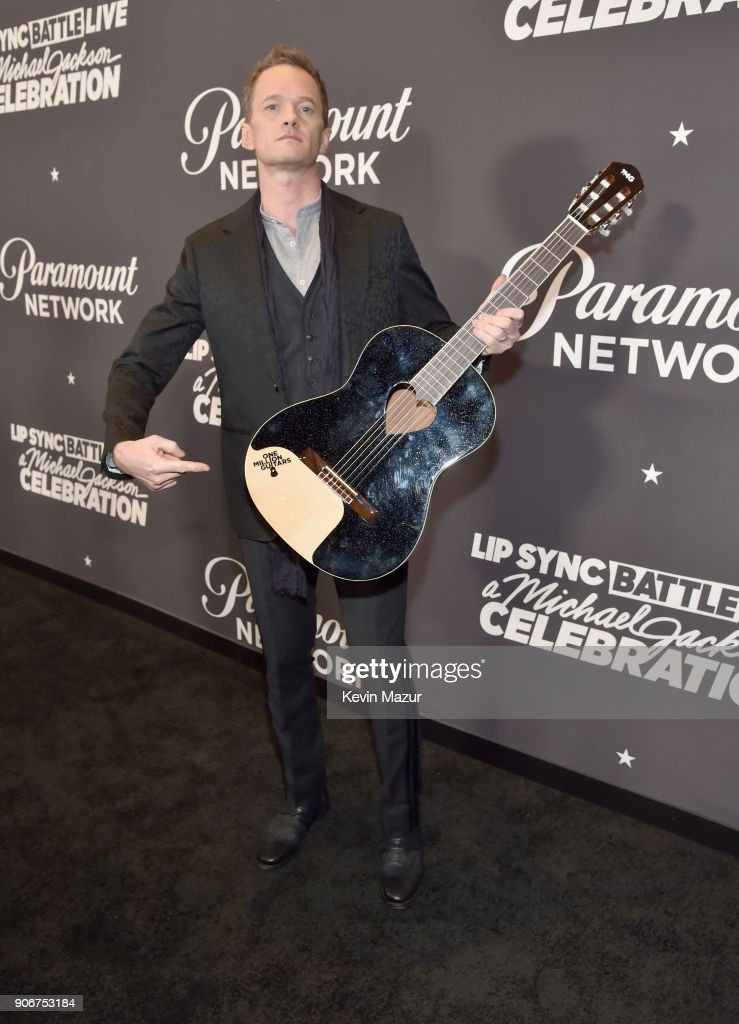 Neil Patrick Harris attends Lip Sync Battle Live: A Michael Jackson Celebration at Dolby Theatre on January 18, 2018 in Hollywood, California.