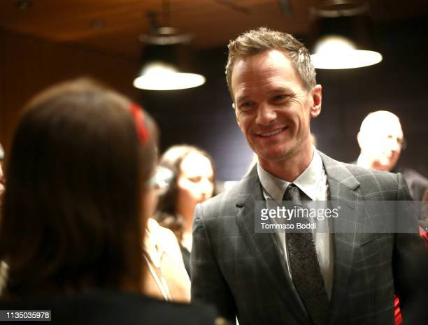 """Neil Patrick Harris attends Netflix's """"A Series of Unfortunate Events"""" Red Carpet and Reception at Netflix Home Theater on March 10, 2019 in Los..."""