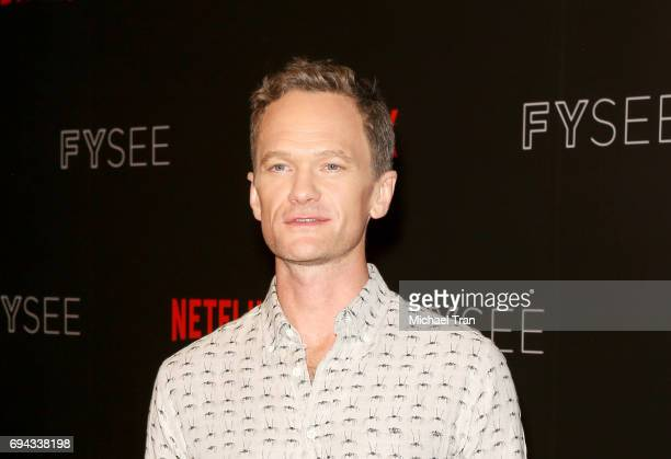 Neil Patrick Harris attends Netflix's 'A Series Of Unfortunate Events' FYC event held at Netflix FYSee Space on June 9 2017 in Beverly Hills...