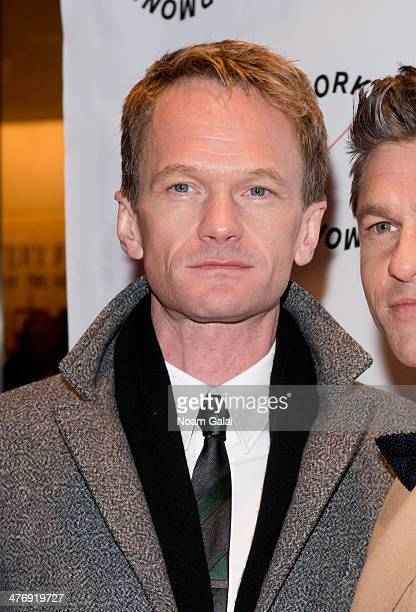 Neil Patrick Harris attends the 2014 The New York Philharmonic Spring Gala featuring Sweeney Todd The Demon Barber of Fleet Street at Josie Robertson...