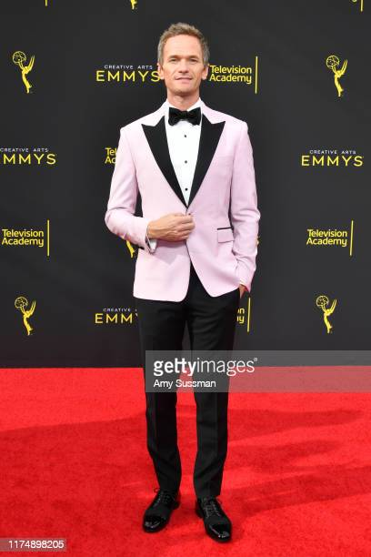 Neil Patrick Harris attends the 2019 Creative Arts Emmy Awards on September 15 2019 in Los Angeles California