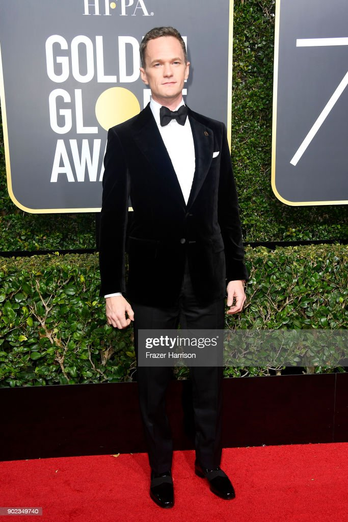 Neil Patrick Harris attends The 75th Annual Golden Globe Awards at The Beverly Hilton Hotel on January 7, 2018 in Beverly Hills, California.