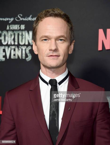 Neil Patrick Harris attends the 'A Series Of Unfortunate Events' Season 2 Premiere at Metrograph on March 29 2018 in New York City