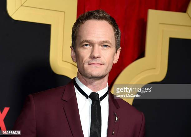 Neil Patrick Harris attends the A Series Of Unfortunate Events Season 2 Premiere at Metrograph on March 29 2018 in New York City