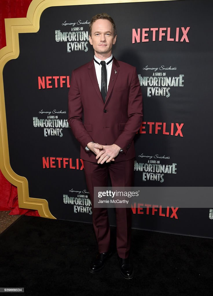 Neil Patrick Harris attends the 'A Series Of Unfortunate Events' Season 2 Premiere at Metrograph on March 29, 2018 in New York City.
