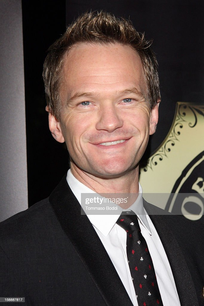 Neil Patrick Harris attends the Academy of Magical Arts & The Magic Castle 50th anniversary gala held at The Magic Castle on January 2, 2013 in Hollywood, California.