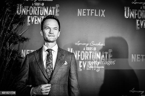 Neil Patrick Harris attends the 'Lemony Snicket's A Series Of Unfortunate Events' Screening at AMC Lincoln Square Theater on January 11 2017 in New...