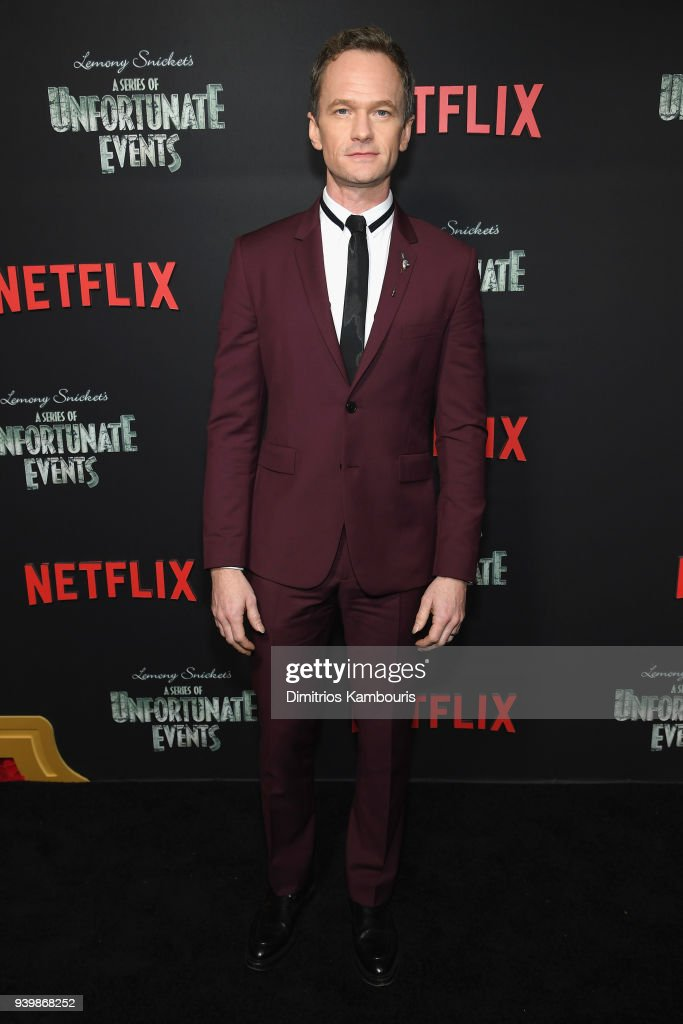 Neil Patrick Harris attends the Netflix Premiere of 'A Series of Unfortunate Events' Season 2 on March 29, 2018 in New York City.