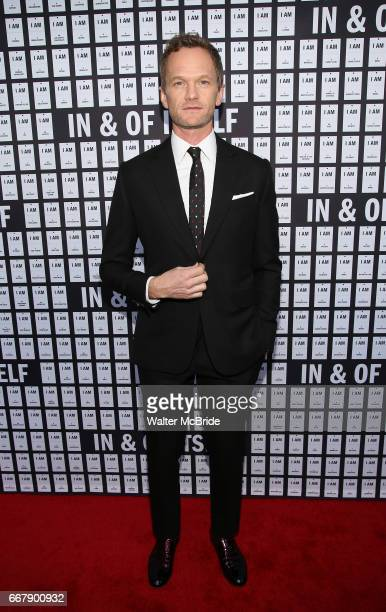 Neil Patrick Harris attends the opening night of 'In Of Itself' at the Daryl Roth Theatre on April 12 2017 in New York City