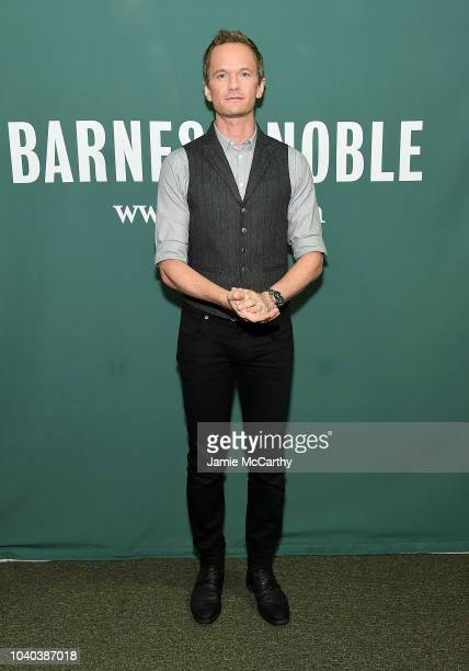 """Neil Patrick Harris discusses His New Book """"The Magic Misfits: The Second Story"""" at Barnes & Noble Union Square on September 25, 2018 in New York..."""