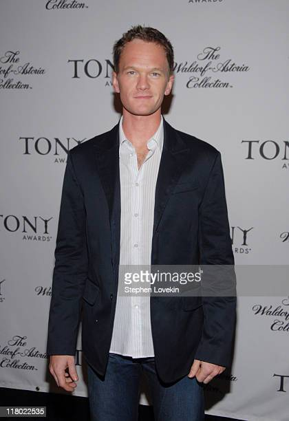 Neil Patrick Harris during 60th Annual Tony Awards Cocktail Celebration at The Waldorf Astoria in New York City New York United States