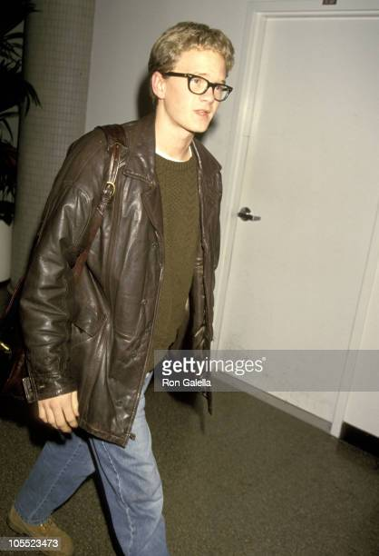 Neil Patrick Harris during Neil Patrick Harris sighting at LAX January 7 1994 at Los Angeles International Airport in Los Angeles California United...