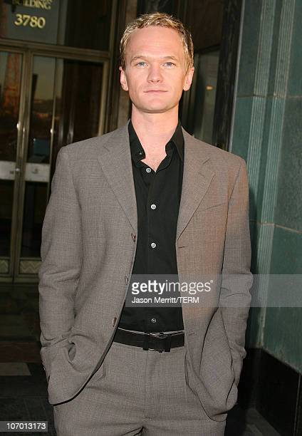 Neil Patrick Harris during The Trevor Project's Cracked Xmas 9 Arrivals at The Wiltern LG in Hollywood California United States