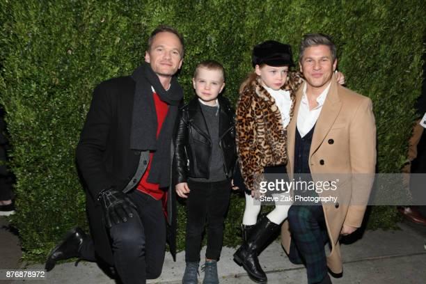 Neil Patrick Harris Gideon Scott BurtkaHarris Harper Grace BurtkaHarris and David Burtka attend the 2017 Saks Fifth Avenue Disney 'Once Upon a...