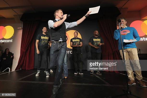 Neil Patrick Harris introduces actors from Broadway's Beautiful The Carole King Musical at a MasterCard exclusive event Variety presents Broadway...