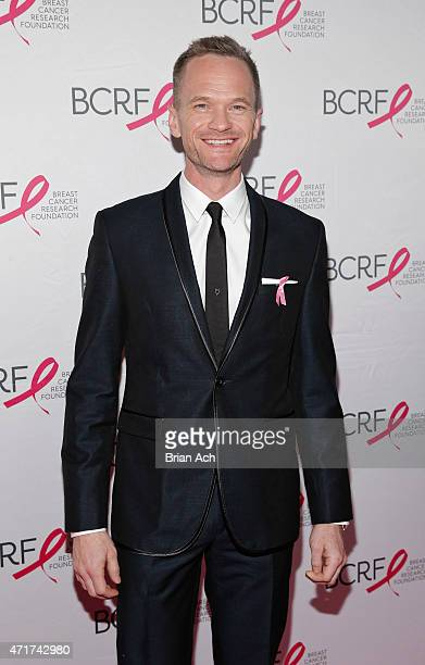 Neil Patrick Harris is seen during the The Breast Cancer Research Foundation 2015 Pink Carpet Party at The WaldorfAstoria on April 30 2015 in New...