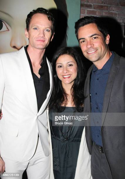 Neil Patrick Harris Lily Pino and Danny Pino attend the Broadway opening night After Party for Hedwig And The Angry Inch at Tao Downtown at The...