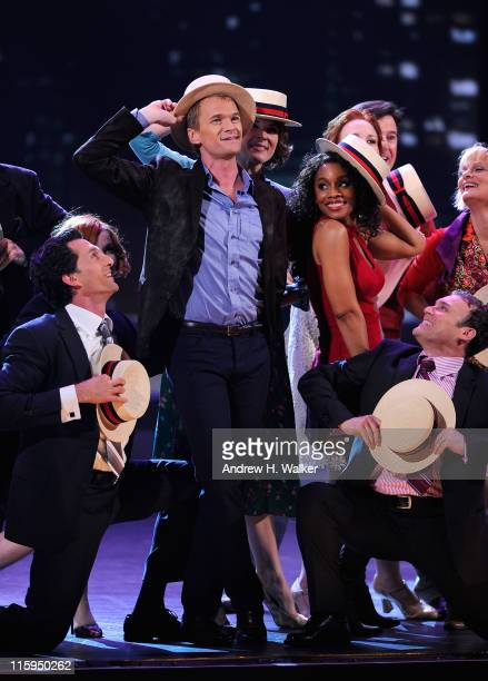 Neil Patrick Harris performs a song from 'Company' on stage during the 65th Annual Tony Awards at the Beacon Theatre on June 12 2011 in New York City