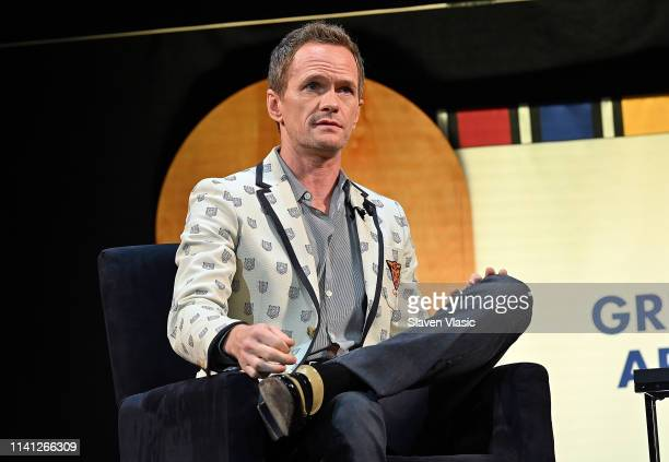 Neil Patrick Harris speaks on stage at Tribeca Celebrates Pride Day at 2019 Tribeca Film Festival at Spring Studio on May 4 2019 in New York City